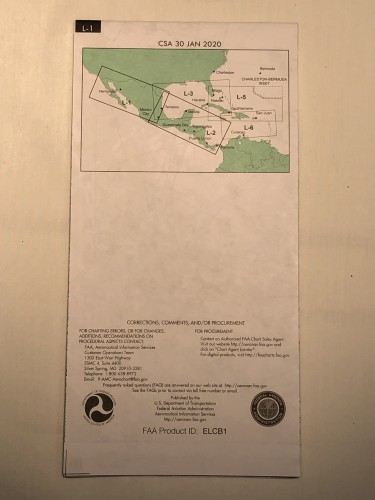 US L1-L2 Caribbean / Mexico / Central America Chart